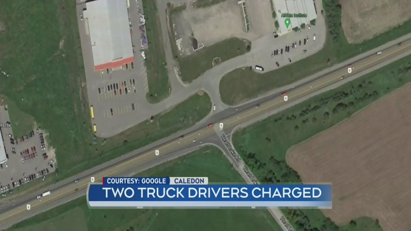 Tow truck drivers charged
