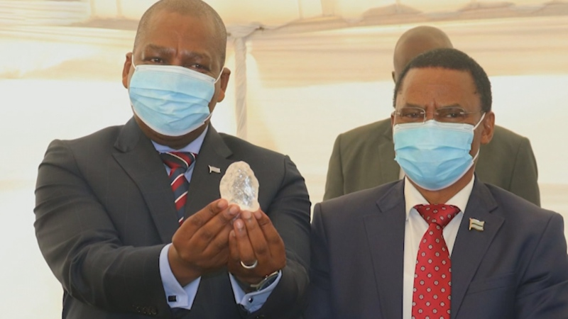 The world's third largest diamond was unearthed in Botswana.