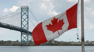 U.S. Canada border