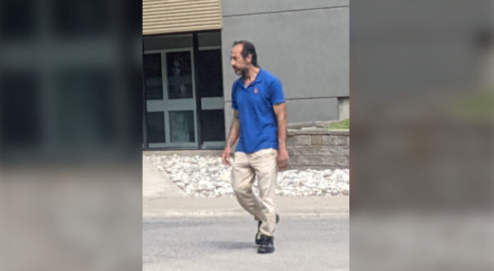 Recognize this man? London police are looking to identify him in an alleged indecent act investigation.