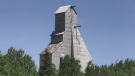 Timmins headframe is part of mining history and will be getting a $500,000 facelift. June 16/21 (Sergio Arangio/CTV Northern Ontario)