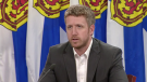 Nova Scotia Premier Iain Rankin gives an update on the province's COVID-19 situation on June 17, 2021.