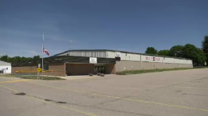 The Wellesley Arena and Community Centre. (Dave Petitt/CTV Kitchener) (June 17, 2021)
