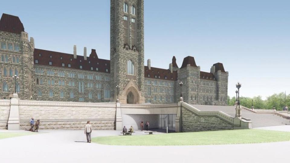 Centre Block renovations