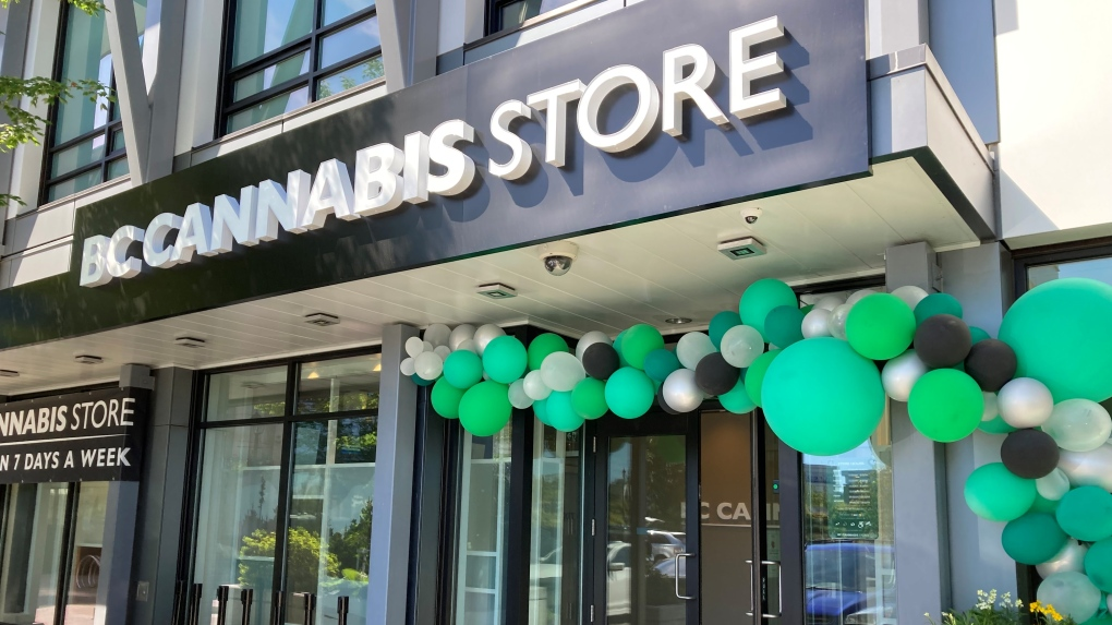 BC Cannabis store uptown