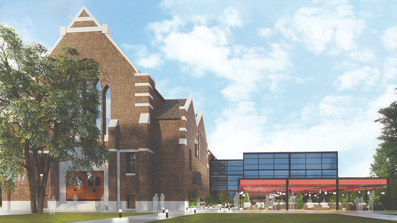 Plans for the new media art centre coming to Windsor, Ont. (source Windsor Centre for Film, Digital Media & the Creative Arts)