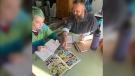 Kyrra and Jeff Burton, the father-daughter writing duo behind The Adventure of Auroraman #9
