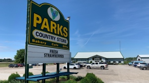 Parks Country store at 14815 Longwoods Road, Bothwell, Chatham-Kent, Ont. (Chris Campbell/CTV Windsor)