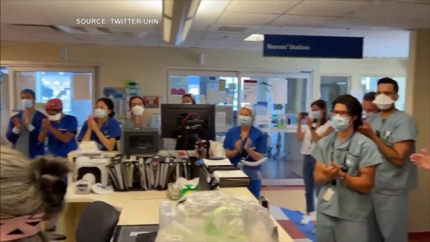 University Health Network has announced that their ICU is free of infectious COVID-19 patients for the first time since Spring 2020.