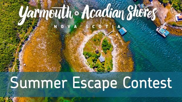 New Summer Escape Contest Header