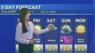 Unsettled weather set to arrive