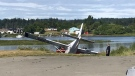The crash occurred on Thursday morning in Campbell River: (CTV News)