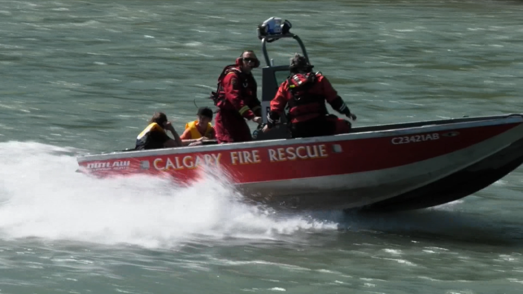 river rescue, CFD, Bow River