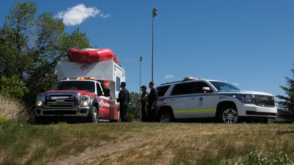 EMS, CFD, river rescue, Bow River