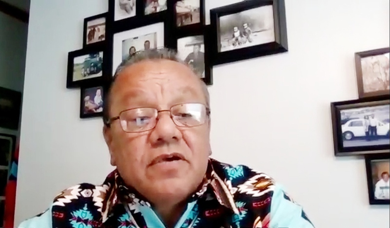There will be a familiar face ascending to the office of Ontario Regional Chief at a ceremony on Friday in Nipissing First Nation. Former Anisinabek Nation Grand Chief Glen Hare was elected to the position Thursday. (Photo from video)