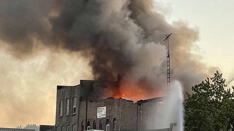 Historic Forest, Ont. building destroyed by fire