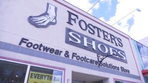 After more than 40 years of operations in Broadway, Foster's Shoes will be closing its doors at the end of the month.