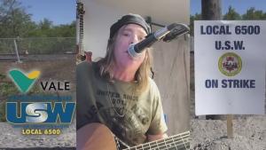 Song honours striking Sudbury Steelworkers