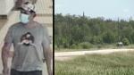 Homicide suspect may have police paraphernalia