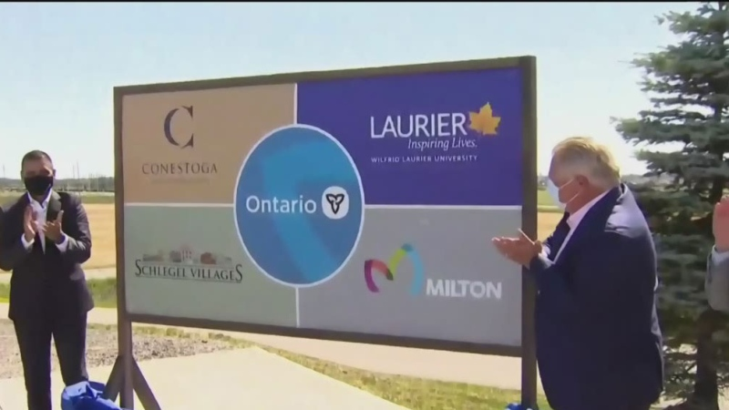 Laurier, Conestoga opening new campus in Milton