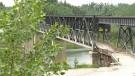 Historic Sask. bridge closed