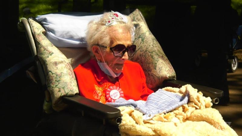Oldest Canadian celebrates 114th birthday