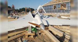 A single-engine plane crashed into a home under construction in Dutton, Ont. on Thursday, June 17, 2021. (Source: Elgin County OPP)