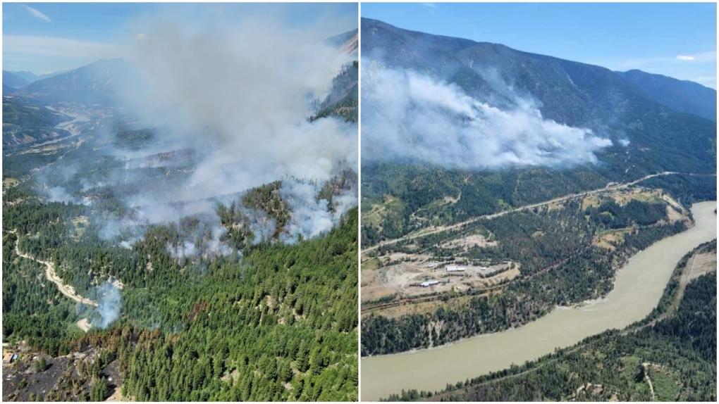 B.C. wildfire 2021