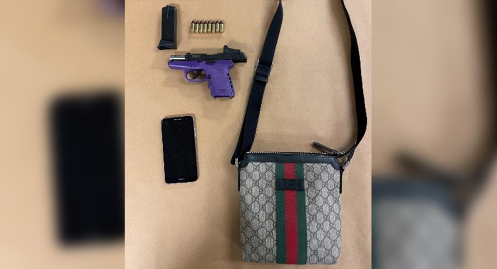 Egerton Street gun seized