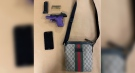 A handgun and ammunition were seized by police in London, Ont. on Thursday, June 17, 2021. (Source: London Police Service)
