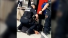 Video of Montreal police kneeling on a young Black person's neck sparked widespread outrage.