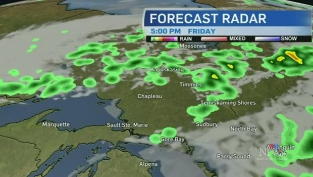A look at northeastern Ontario's weekend weather
