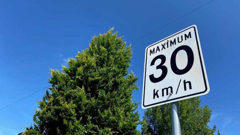 30 km/h speed limit