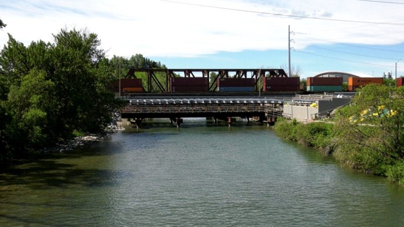 Ninth Avenue S.E. bridge Calgary
