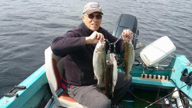 Pat O'Brien was last seen Thursday afternoon aboard a four-metre skiff in the Strait of Juan de Fuca. (U.S. Coast Guard)