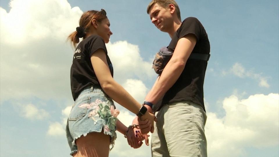 Alexandr Kudlay and Viktoria Pustovitova