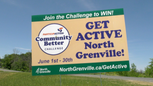 North Grenville is taking part in The Participaction Community Better Challenge. (Nate Vandermeer/CTV News Ottawa)