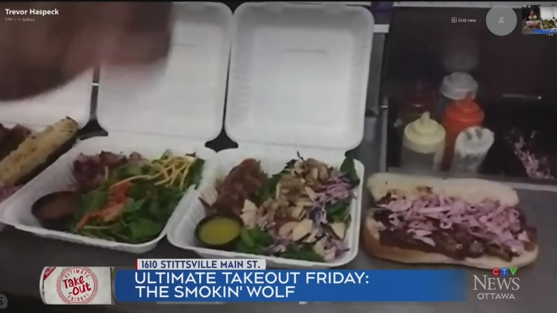 Ultimate Takeout Friday: The Smokin' Wolf