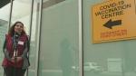 Look inside new vaccine clinic
