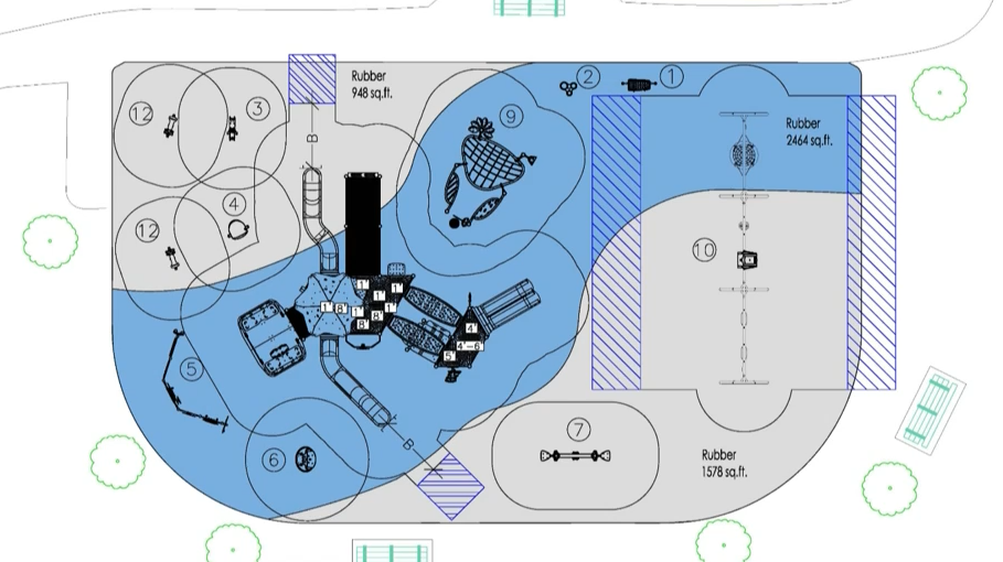 Accessible playground design