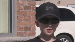 Elora boy collecting pop can tabs for charity