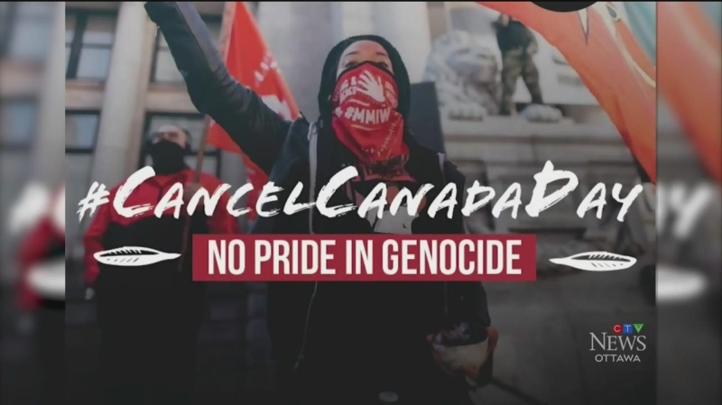 Calls to cancel Canada Day