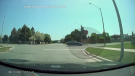 Driver nearly hits child in Ontario