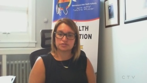 Lynne Innes, the president and chief executive officer for the Authority, said she knows of 10 isolation units being built in Kashechewan. To control the virus, she said sick people need to be isolated safely. (Photo from video)