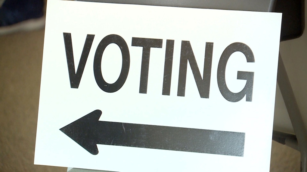 voting, drive, through, lethbridge