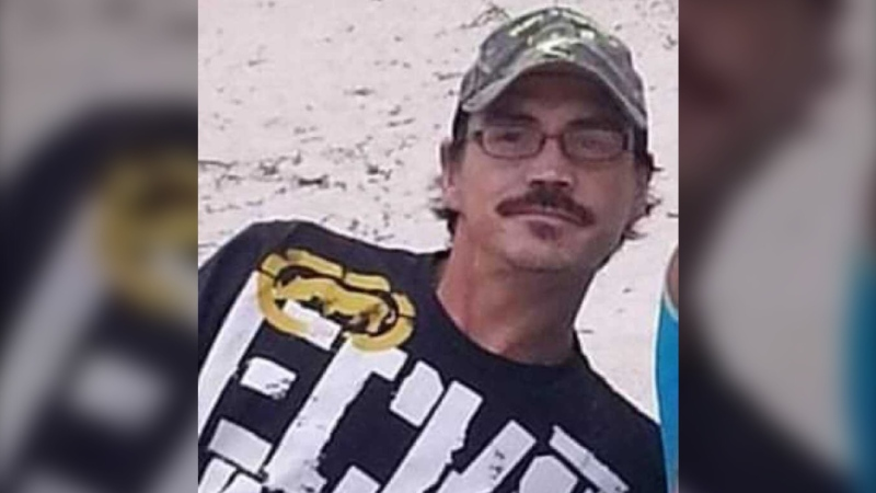 Clifford Joseph, 40, disappeared after leaving his home in the R.M. of St. Clements on June 7 and hasn't been seen since. (Submitted)
