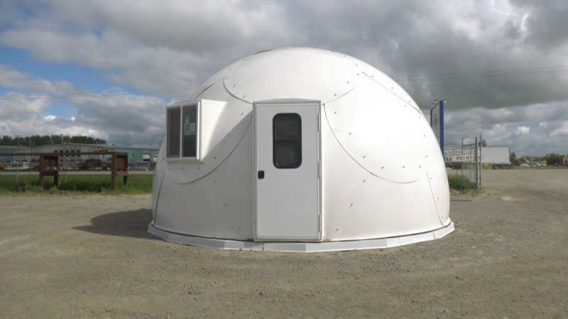 Sask. company sends shelters to Ontario