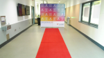 """Health officials have rolled out a red carpet for the all-night """"Vax-a-thon"""" being held at the Guildford Recreation Centre this weekend."""