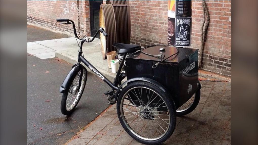 Stolen tricycle victoria