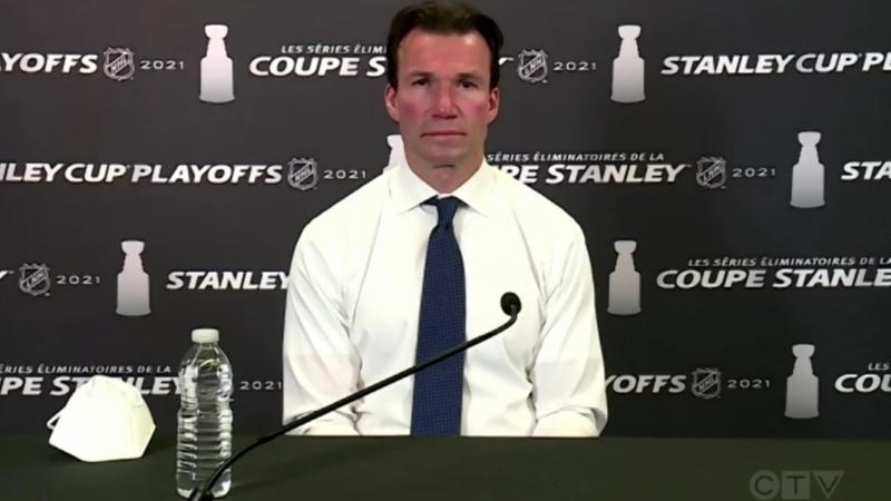 Canadiens assistant coach Luke Richardson